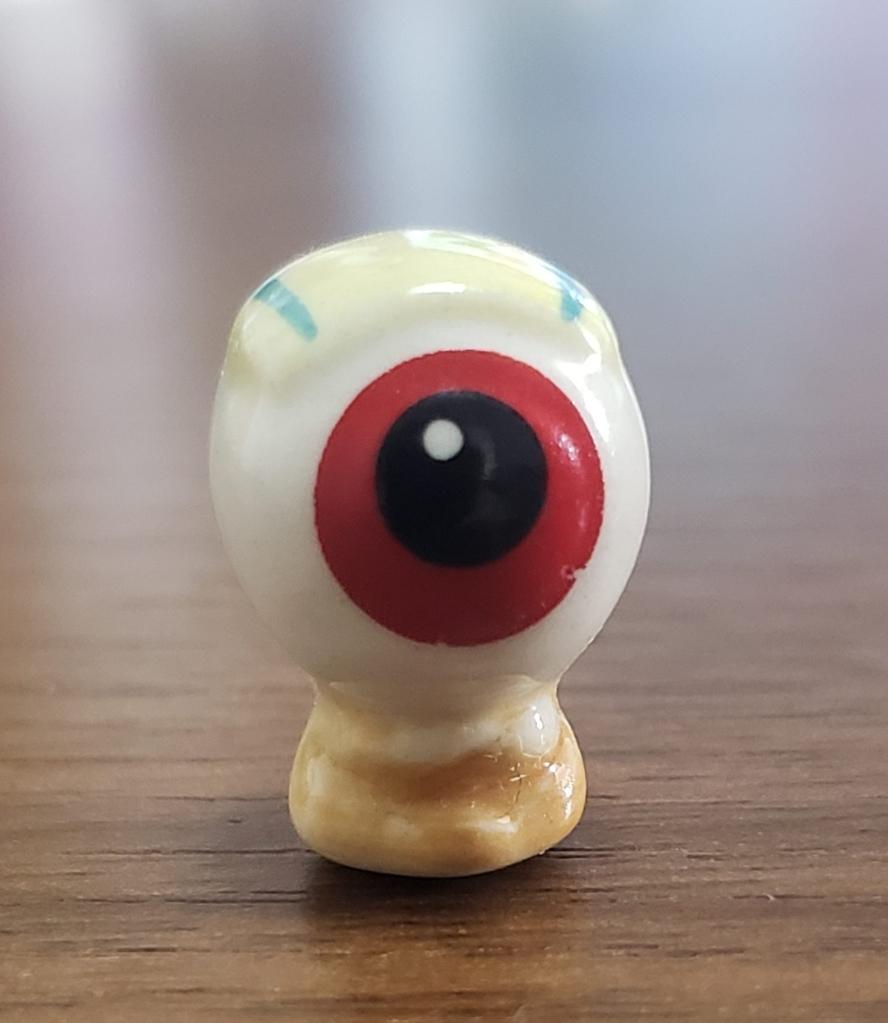 The Yokai,Medama-Oyaji (Eyeball Daddy) figurine